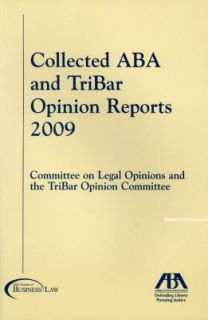 The Collected ABA and TriBar Opinion Reports 2010, Paperback