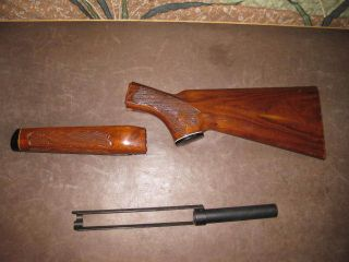 Remington 760 Rifle Stock Forearm and Action Bar
