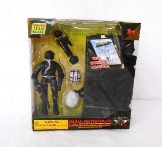 World Peacekeepers Military Action Figure Parachute 1 18 Scale