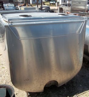 1000 Gallon Sunset MC1000PX 55A Stainless Steel Bulk Milk Tank