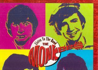 the Band box set Monkees CD 4X CD 80 trx Rhino Davy Jones Mike Nesmith
