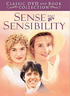 Sense and Sensibility DVD, 2004, Classic DVD and Book Collection