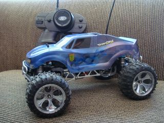 Upgraded Losi Mini LST All Aluminium and Carbon Fiber Monster Truck