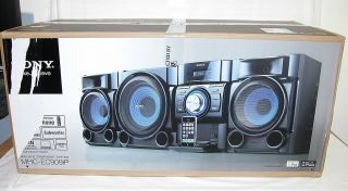 Sony MHCEC909IP Mini Hi Fi Shelf Stereo System CD Boombox