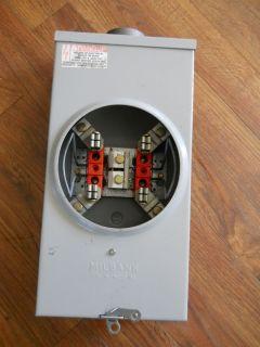 Milbank 100 Amp Meter Socket