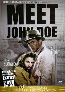 Meet John Doe DVD, 2010, 2 Disc Set, 70th Anniversary Ultimate