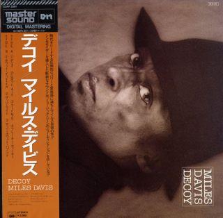 Miles Davis Decoy Japan OBI Audiophile w Gatefold