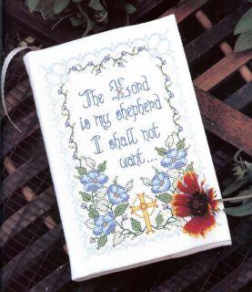 Inspirational Cross Stitch Book Bucilla Bible Covers