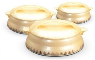 Milton Hot Pot 3 Piece Casserole Set