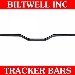 Biltwell Inc Black Non Dimpled Tracker Handlebars Bobber Harley