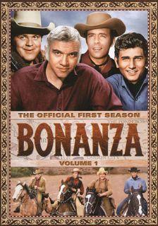 Bonanza The Official First Season, Vol. 1 DVD, 2009, 4 Disc Set