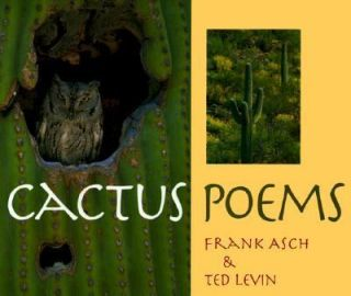 Cactus Poems by Frank Asch 1998, Hardcover
