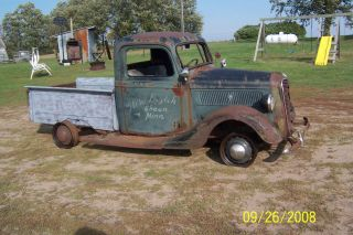 37 Ford Pickup 1 2 Ton Hot Rat Rod Project