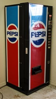 Mini Dixie Narco Pepsi Soda Vending Machine