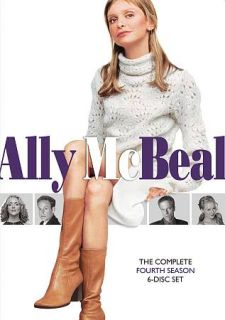 Ally McBeal The Complete Fourth Season DVD, 2010, 6 Disc Set