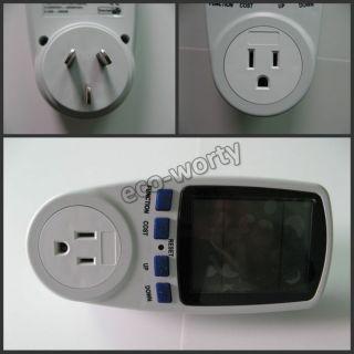 Mini Energy Power Watt Voltage Meter LCD Monitor Advanced Ammeter USA