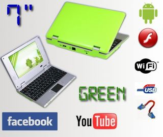 Mini Laptop Netbook Android 2 2 Notebook Computer PC WiFi 3G