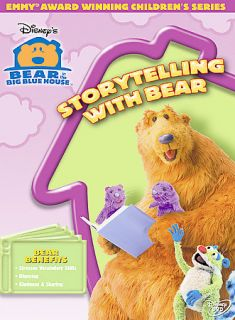 Bear in the Big Blue House   Storytelling With Bear DVD, 2005