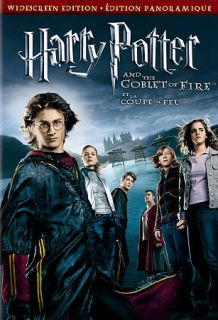 Harry Potter and the Goblet of Fire DVD, 2006, Canadian French