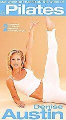 Denise Austin   Mat Workout Based on the Work of J.H. Pilates VHS