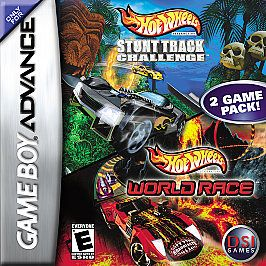 Hot Wheels Stunt Track Challenge World Race Nintendo Game Boy Advance