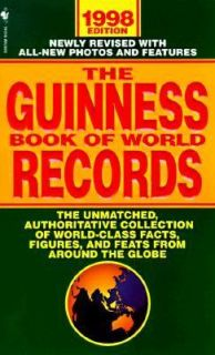 Book of World Records 1998 by Mark C. Young 1998, Paperback