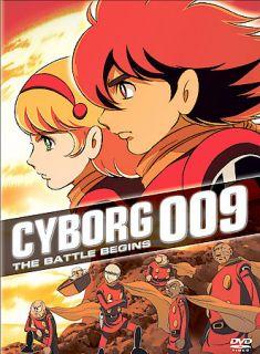 Cyborg 009   The Battle Begins DVD, 2003