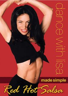 Dance With Lisa   Red Hot Salsa DVD, 2005