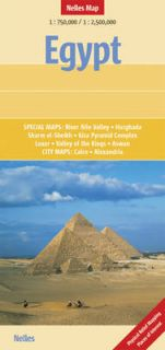 Egypt NEL.105 by Nelles Guides and Maps Sheet map, 2009