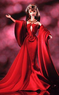 Countess of Rubies 2001 Barbie Doll