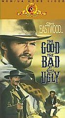 The Good, the Bad and the Ugly VHS, 1991, 2 Tape Set