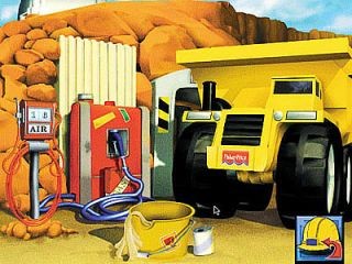 Fisher Price Big Action Construction PC, 2001