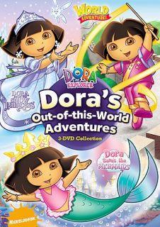 Dora the Explorer Doras Out Of This World Adventures DVD, 2008, 3