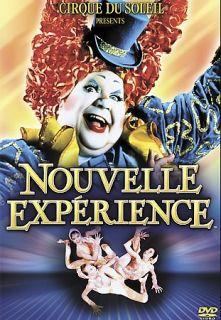 Cirque du Soleil   Nouvelle Experience DVD, 2001