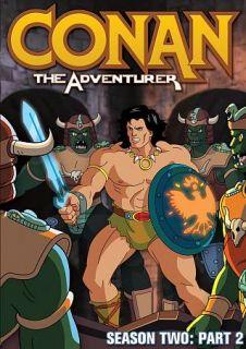 Conan the Adventurer Season Two, Part 2 DVD, 2012, 2 Disc Set