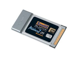 Creative Sound Blaster Audigy PC Card SB0530 Sound Card