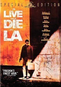 To Live and Die in LA Dark Blue DVD, 2006, 2 Disc Set, Side by Side