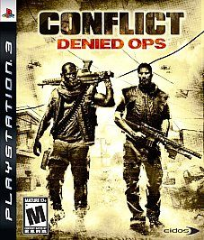 Conflict Denied Ops Sony Playstation 3, 2008