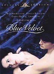 Blue Velvet DVD, 2002, Special Edition