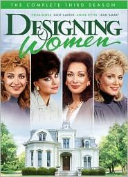Designing Women The Complete Third Season DVD, 2010, 4 Disc Set