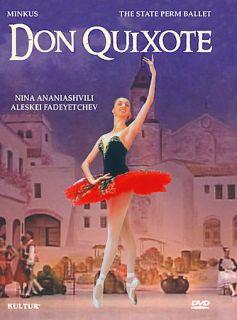 Don Quixote   Starring Nina Ananiashvili DVD, 2005
