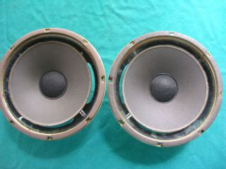 PAIRS] INFINITY 10 INS SPEAKERS [ NEED REFOAM ] VINTAGE.