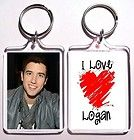 New Big Time Rush Logan Henderson Barrel Style Metal Watch