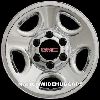 SETOF4 GMC 6 Lug 16 Chrome Wheel Skins Rim Hub Cap Covers 5 Spoke