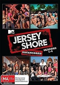 Jersey Shore   Seasons 1   4 Complete Collection (New Sealed)