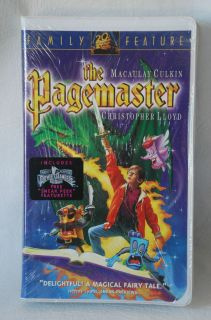 Never opened   the Pagemaster VHS  20th Century Fox