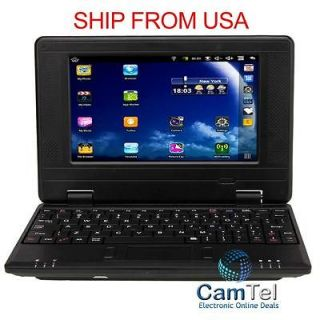 Mini Laptop Notebook Netbook 7 VIA8650 800MHz Android 2.2 256MB