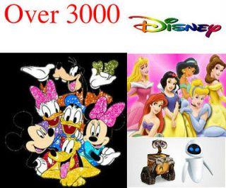 3000+ Disney Cartoon Embroidery Machine Pattern Designs Brother Baby