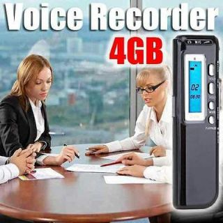 4GB USB Digital Spy Audio Voice Recorder Dictaphone Pen Flash Drive