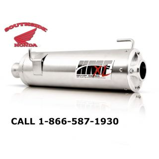 HMF SWAMP XL SERIES SLIP ON EXHAUST HONDA RUBICON 500 SPRING 2006 2012
